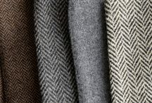 Tweed / Inspirations for Millbank & Foot, www.millbankandfoot.co.uk / by HELEN FOOT DESIGN