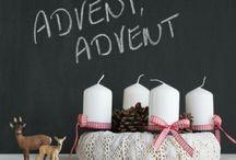 advent dekorace