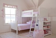 Bunks / Our bunks are designed with your growing little ones in mind. Start off with a single bed and add on as your little boy or girl develops. The top bed can be added to make a bunk and the conversion set thereafter to turn your bunk into a L-shape. The bookshelf can face inside or outside, all depends on your space and needs. The underbed also fits to make a third bed for sleepover fun. We recommend the removable safety rail and of course, the ladder to climb up and down.
