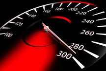 Attribute Dependence - Speedometer light / A speedometer light that changes color as per the speed of the vehicle. It turns red when over speed limit of the road