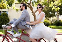 Bicicletas em casamentos / Inspirações com bicicletas em casamentos.