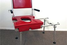 STATIONARY TUB SLIDER (STS) / The Go-Anywhere portable Stationary Tub 'n Shower Chair™ provides a practical and convenient means for elderly and/or disabled individuals to shower safely wherever and whenever they want.