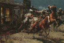 Western Art - Andy Thomas / Western Art by Andy Thomas