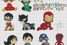 Cross Stitch - Super Hero