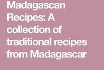 Madagascar cooking ,etc