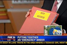 The Red Binder and other emergency aids/helps / Red Binder, emergency binder, emergency aids and helps / by Julie Strangfeld