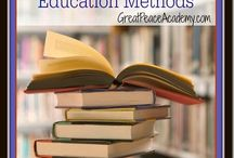 Homeschool: Methods / Eclectic | Child Led | Montessori | Classical | Unschooling | Waldorf | Charlotte Mason