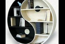 Libraries / Libraries are places to retreat to, filled with books and bookcases and comfortable furniture / by Marie Logan
