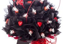 Valentine Chocolate Bouquets / The day of love, beauty and chocolates.....