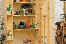 Шкаф для садового инвентаря