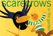 ~scarecrows in the garden~ / The wacky and imaginative scarecrows return!