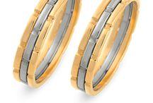Tweekleurige ringen
