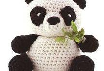 amigrumi panda