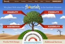 Colorful web design / Interaktívne weby, flash web design, inšpirácie plné farieb a nápadov.