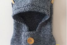Gorros tejidos a mano / Gorros tejidos a mano con lana antialérgica para niños y bebés.