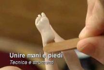 mani , piedi e corpo in porcellana fria