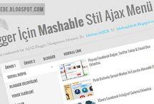 Blogger için Mashable stil ajax navigasyon menü