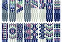 узоры мозаичное плетение