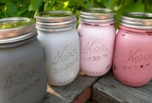 Mason Jar Idea's / by Blanca Escandon