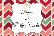 Etsy Mini Mall - Paper & Party Supplies / Mini Mall of items from our BYES members! To post - join our Facebook group - Boost Your Etsy Sales. See all items on Facebook at https://www.facebook.com/Etsy-Mini-Mall-1911501305742617/?notif_t=fbpage_fan_invite