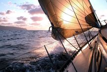 Sailing  (l-^ / by Linny Pahl