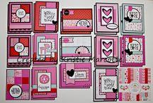 Papercrafts ~ 6x6 cards
