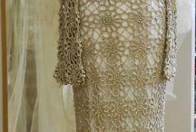 vestido croche longo