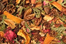 Potpourri for Autumn and Winter / Potpourri that is great for the Fall and Winter months.  Excellent Holiday scents, too!