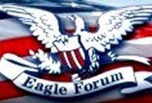 Eagle Forum/Phyllis Schlafly / by Kathy Sands