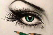 szem rajzok