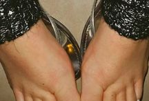 the fashion female feet