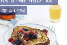 Breakfast & Brunch / Get your mornings started off right with these delicious breakfast and brunch recipes!