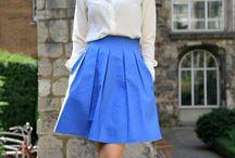 IDEES - Jupes en couture - lovely skirts / Inspiration - jupes, skirt, vintage
