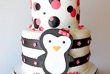 penguin cake / by Fion Say
