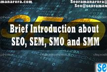 Brief Introduction about SEO, SEM, SMO and SMM