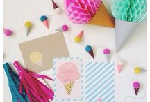ICE CREAM PARTY // / The best kind of party involves ice cream. / by Fat Mum Slim
