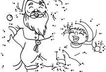 Tehtäviä lapsille joulu