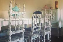 Casa decoração / Decoração estilo beleza feminilidade