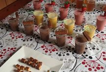 Healthy Party Food / Organizing a Shake Party? Here's some ideas!