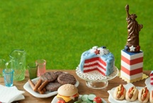 4th of July miniatures
