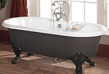 Victorian Style Baths / Our free standing Victorian roll top baths are available in two different styles, the traditional cast iron bath and the more contemporary acrylic roll top bath.  Both these Victorian style roll top baths are generously proportioned and make a stunning centre piece for your bathroom.   The St James Collection Victorian Bath and Shower Mixers have been designed to complement these Victorian Style Baths.