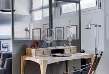#Room dividers / room dividers, partitions, clever ways to break up a room, shelving, screens, panelled doors and windows
