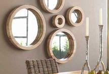 Cabin mirrors