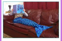 Mermaid tail crotchet