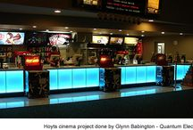 Hoyts Cinema Lighting Project / LED Warehouse RGB Strips Used in Hoyts Cinema Dunedin
