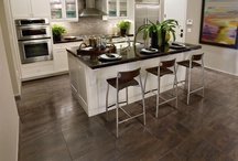 Kitchen / A Kitchen is more than a food prep area.  Its a meeting room, a focal point, a socializing center, and sometimes the heart of a house.  Make sure its exactly how you want it.  Here are some inspirational images and flooring options for your kitchen.