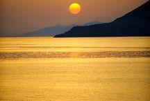 Korcula Sunsets / The sunsets on Korcula Island are simply beautiful.