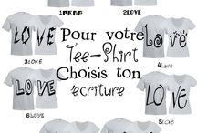 Tee-shirt des amoureux