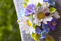 Полимерная глина цветы