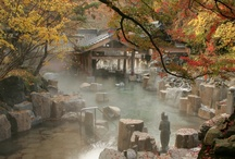 Onsen, hot springs, and baths